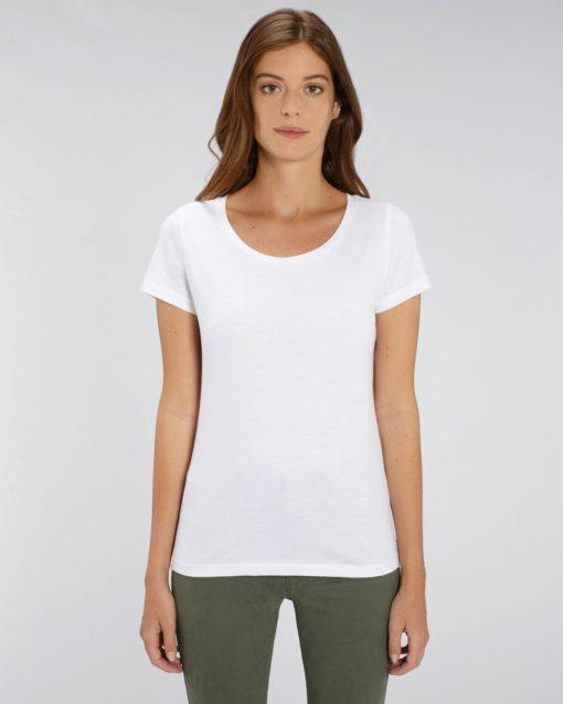 t-shirt vierge Femme