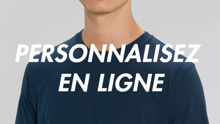T-shirt personnalisé en ligne