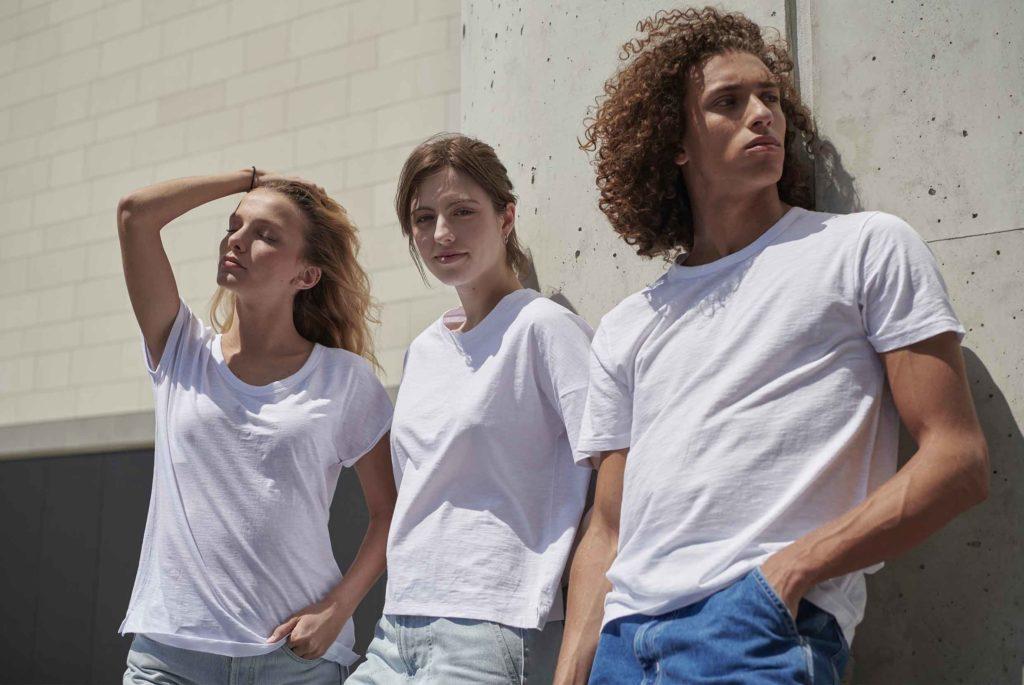 T-shirts Blancs Stanley/Stella