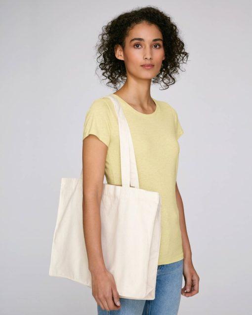 Shopping-bag coton recyclé personnalisé
